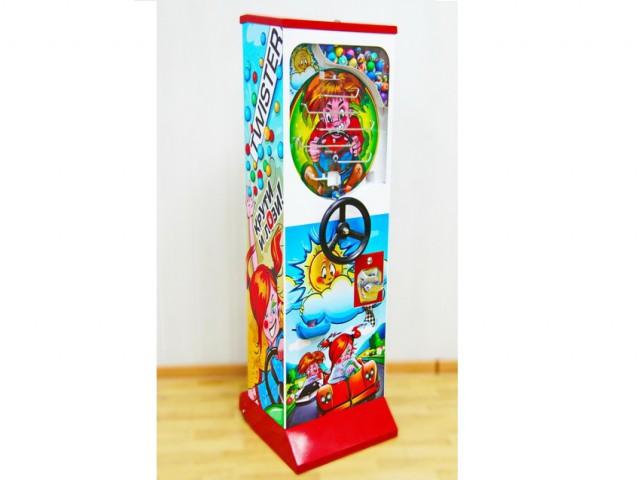 Мягкая игрушка За рулем - аппарат для продажи мячей-прыгунов