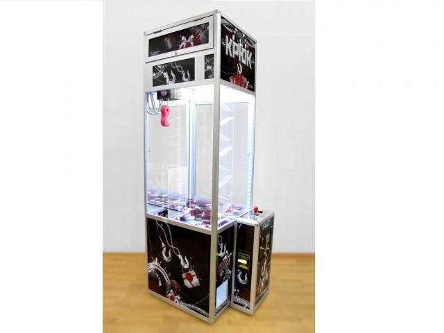 Мягкая игрушка Торговый автомат ловкий крюк vip