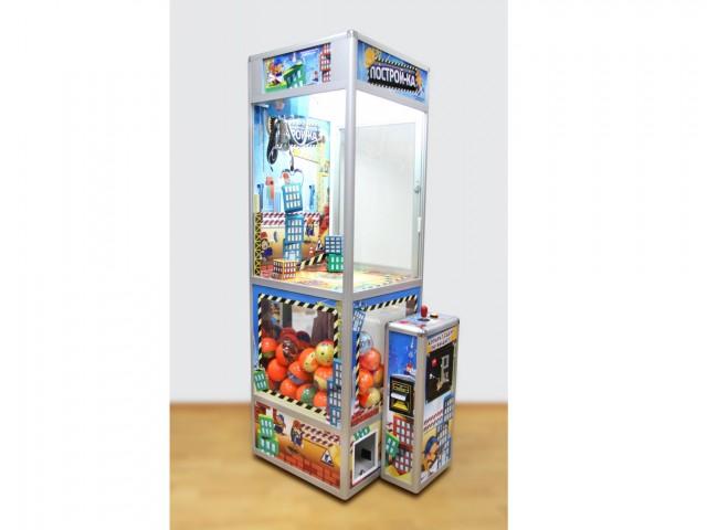 Мягкая игрушка Торгово-развлекательный автомат построй-ка