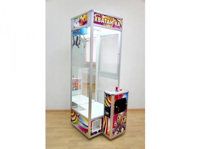 Мягкая игрушка Веселая покупка. аппарат 100% достает игрушку. мал.