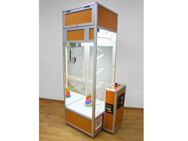 Мягкая игрушка Кран-машина с мини-лузой+скат для мячей