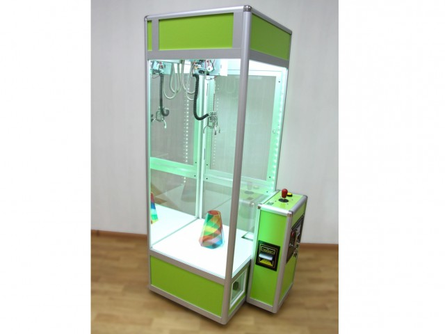 Мягкая игрушка Микро кран-машина с лузой