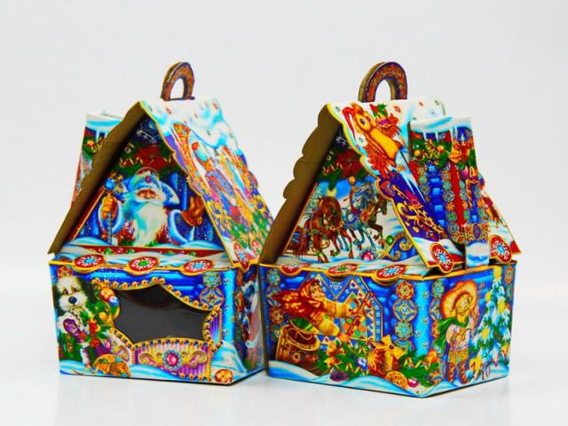 Мягкая игрушка Упаковка для подарка домик