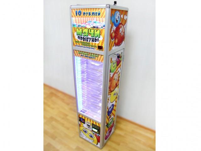 Мягкая игрушка Автомат веселый столбик + бонусный мяч