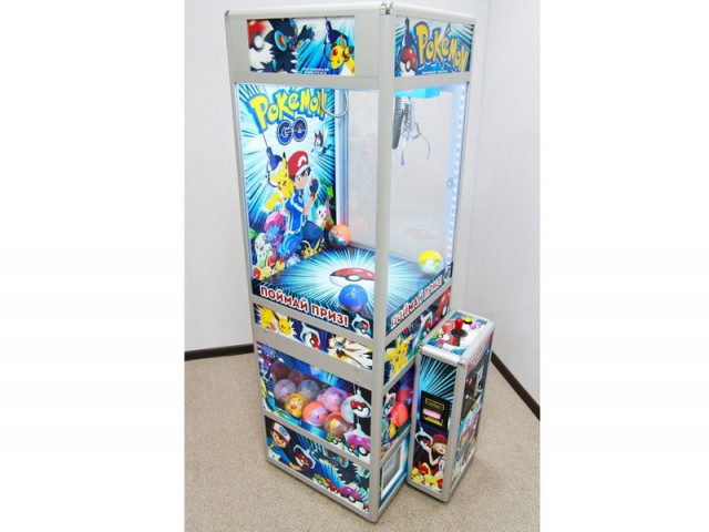Мягкая игрушка Автомат pokemon go