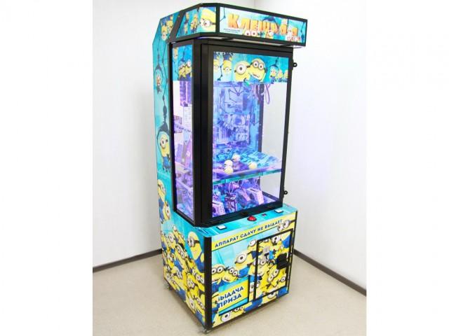 Мягкая игрушка Призовой автомат бункер- миньоны с винтами для дорогих призов