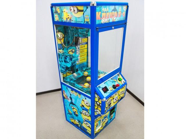 Мягкая игрушка Призовой автомат бункер- миньоны с призами в капсулах
