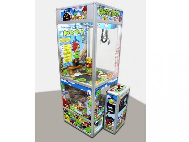 Мягкая игрушка Автомат построй-ка злые птички
