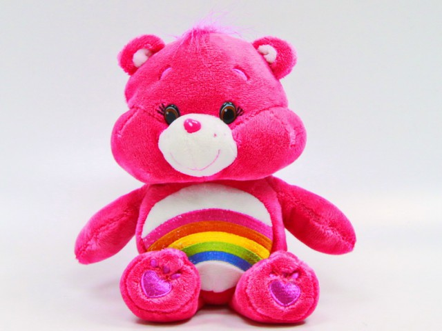 Мягкая игрушка Мишка радуга