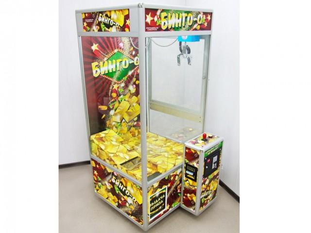 Мягкая игрушка Торгово-развлекательный аппарат бинго большой