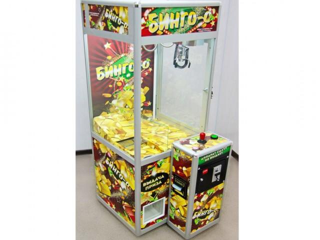 Мягкая игрушка Торгово-развлекательный аппарат бинго мал.