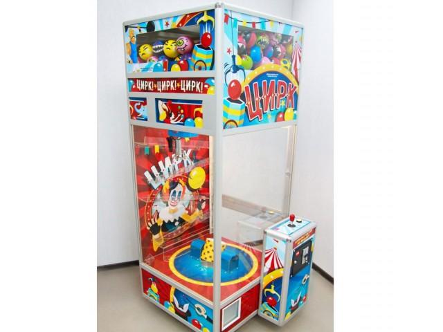 Мягкая игрушка Автомат цирк