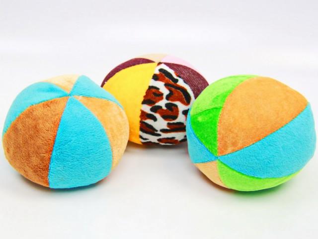 Мягкая игрушка Мячик цветной