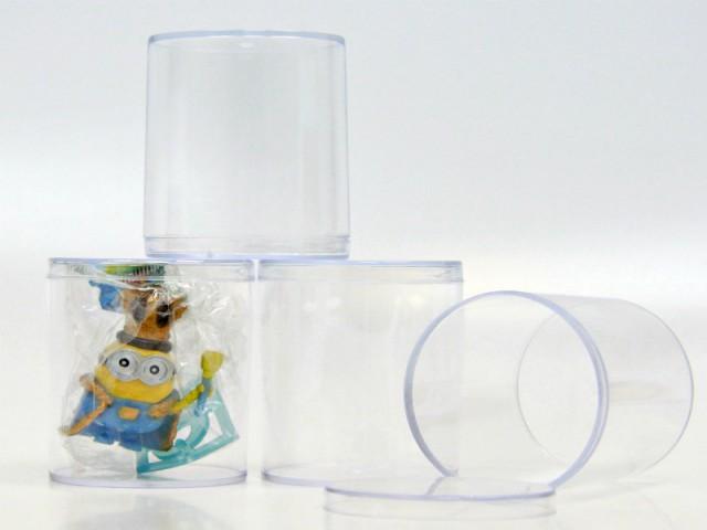 Мягкая игрушка Туба прозрачная пластиковая с крышкой