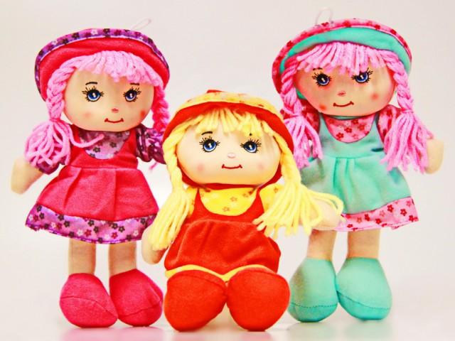 Мягкая игрушка Кукла ассорти