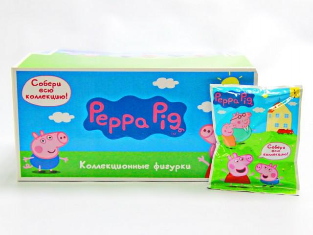 Мягкая игрушка Фигурка свинка пеппа -собери коллекцию