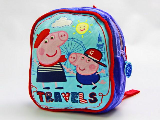 Мягкая игрушка Рюкзачок детский свинка пеппа