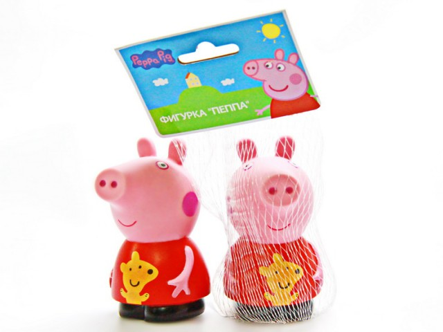 Мягкая игрушка Свинка пеппа веселое купание