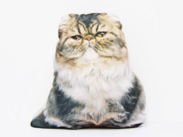 Мягкая игрушка Подушка кот персидский