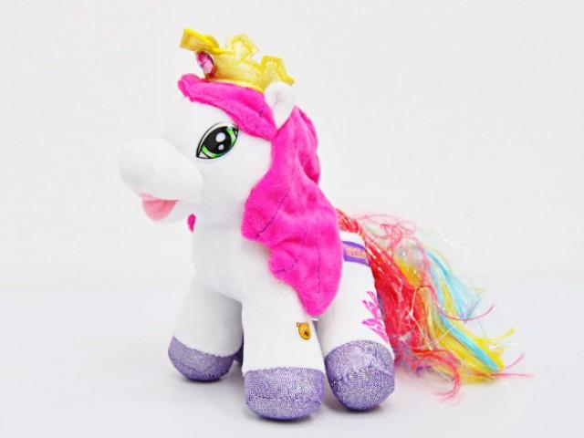Мягкая игрушка Пони радуга мал