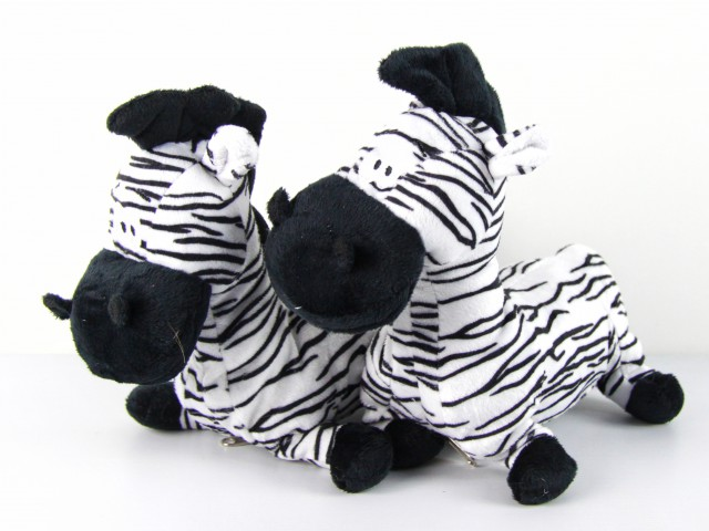 Мягкая игрушка Конфетница зебра