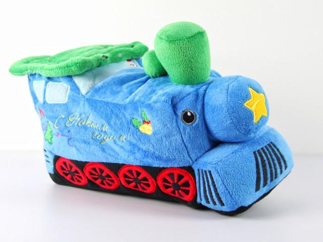 Мягкая игрушка Конфетница паровозик