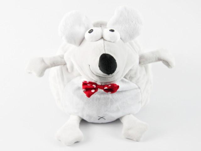 Мягкая игрушка Конфетница мышонок  прикольный