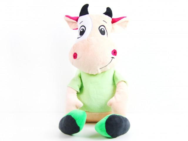 Мягкая игрушка Конфетница игрушка веселый бычок