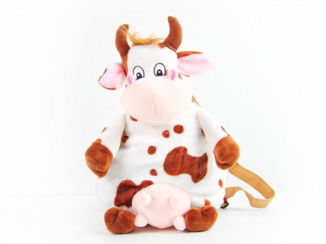 Мягкая игрушка Рюкзак коровка