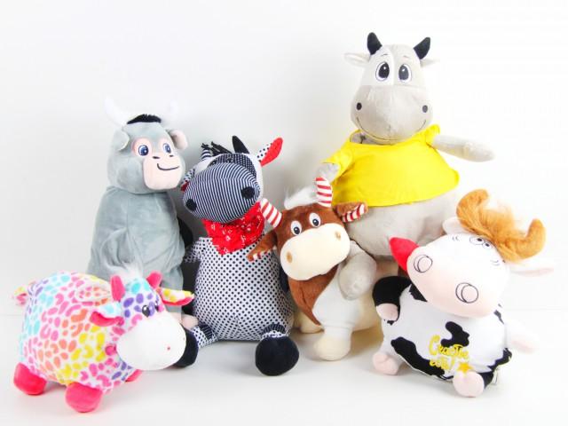 Мягкая игрушка Игрушки  конфетницы бычки