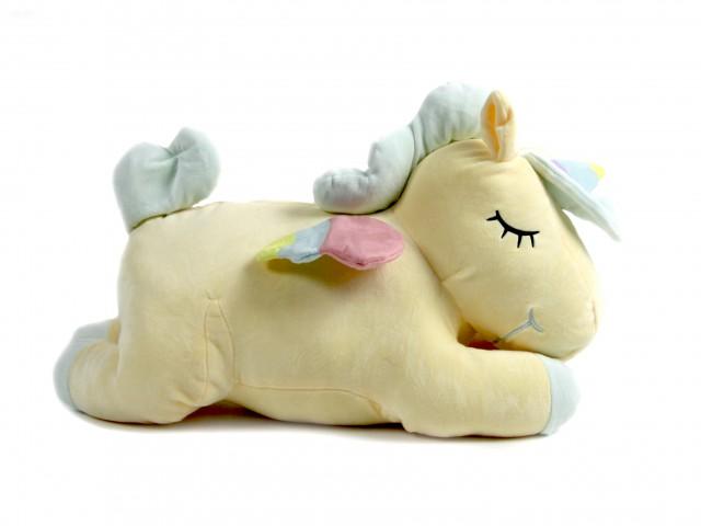 Мягкая игрушка Единорог желтый