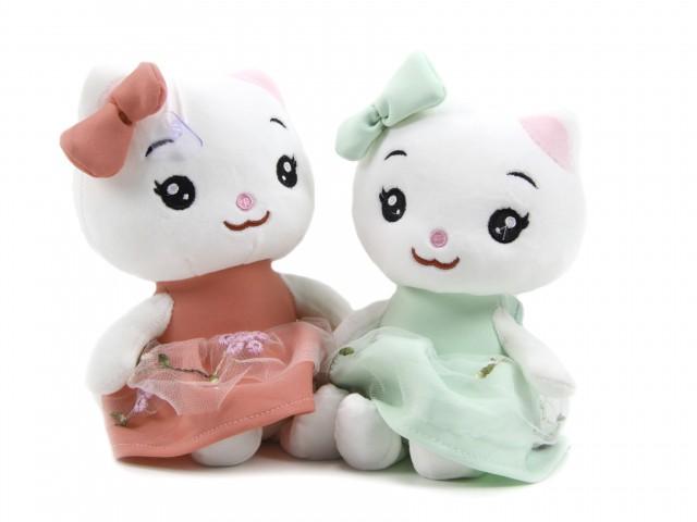 Мягкая игрушка Кошечка в платье