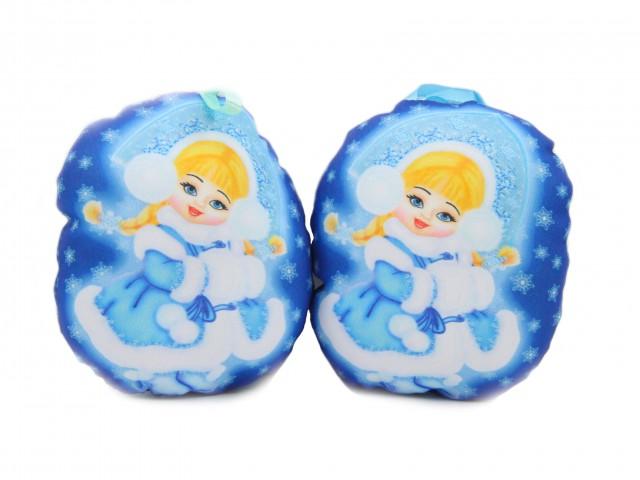 Мягкая игрушка Девочка снегурочка