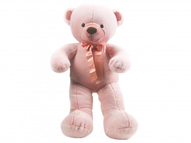 Мягкая игрушка Мишутка ангорка розовый