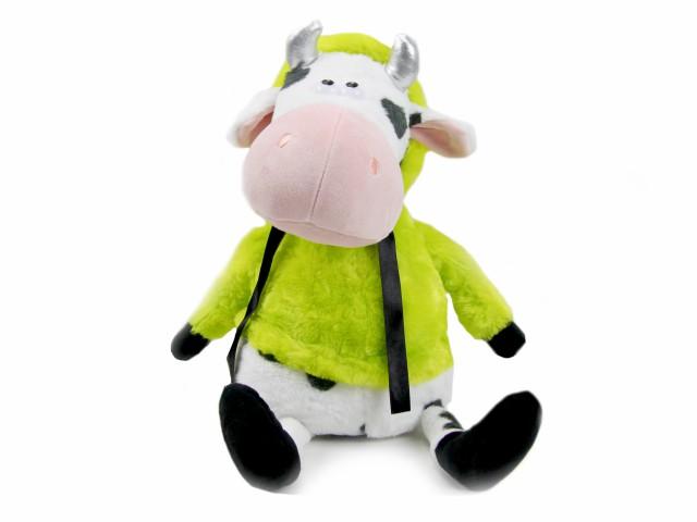 Мягкая игрушка Бычок в яркой шубке игрушка пижамница