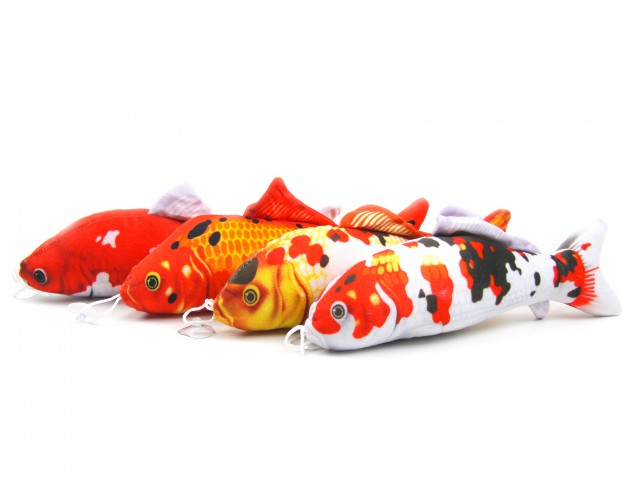 Мягкая игрушка Рыбки цветные