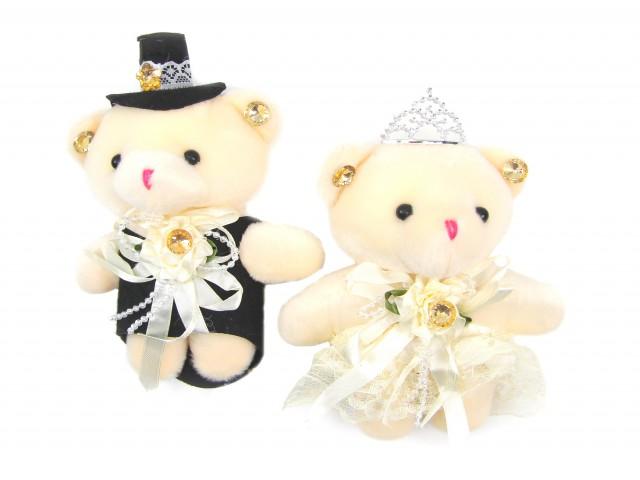 Мягкая игрушка Мишутки жених и невеста