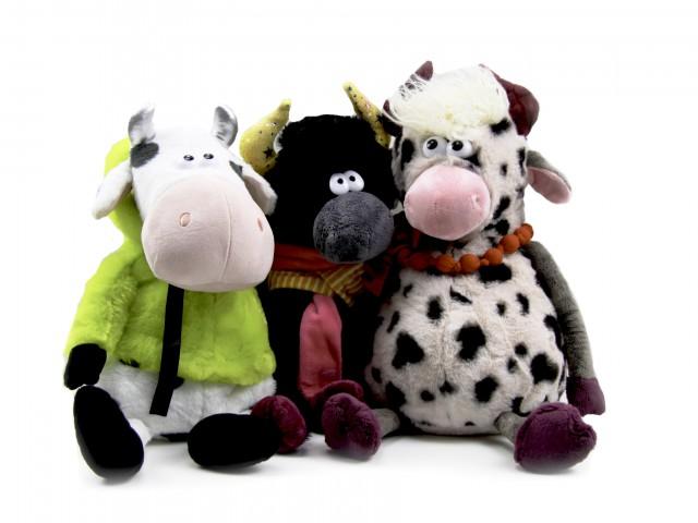 Мягкая игрушка Бычки игрушки пижамницы