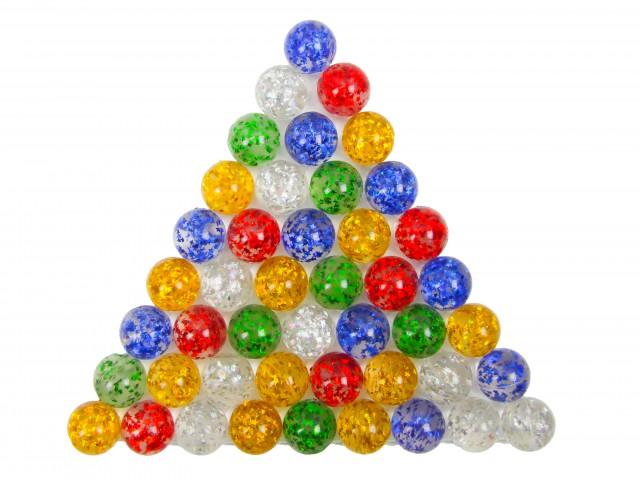 Мягкая игрушка Мяч прыгун блестки