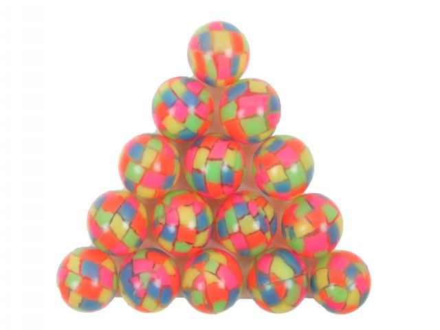 Мягкая игрушка Мяч прыгун мозаика