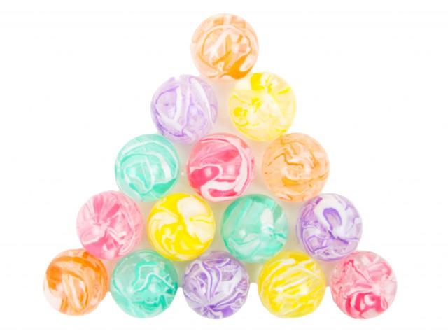 Мягкая игрушка Мяч прыгун галактика