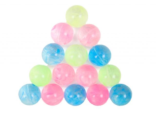 Мягкая игрушка Мяч прыгун аква