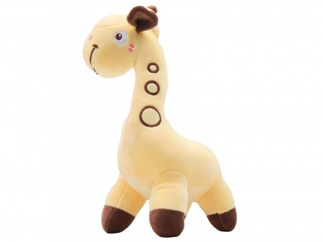 Мягкая игрушка Жирафик желтый