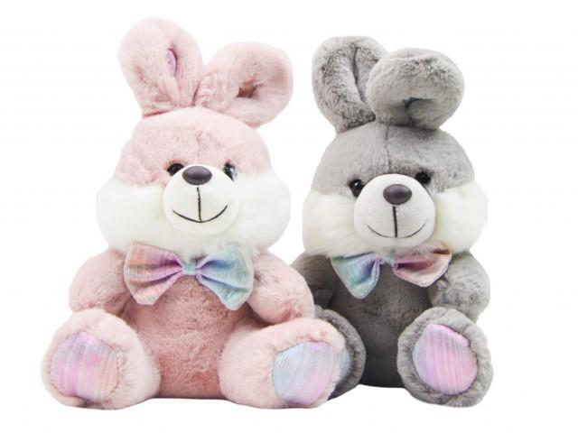 Мягкая игрушка Кролик с бантом