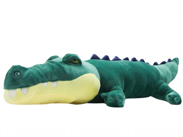 Мягкая игрушка Крокодил изумрудный
