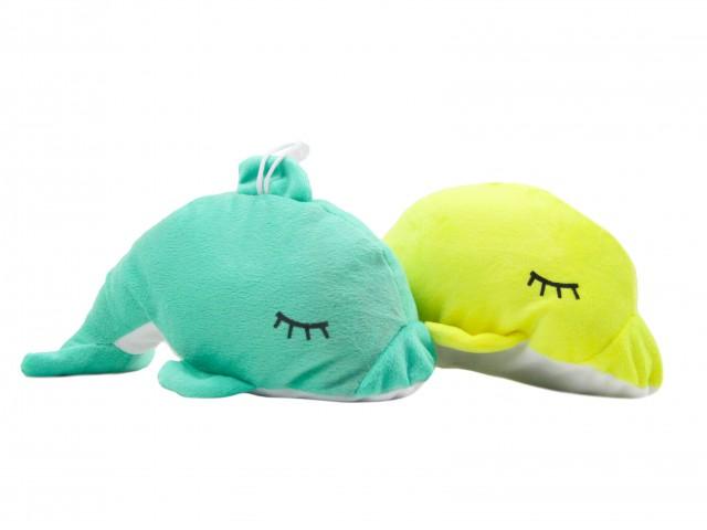 Мягкая игрушка Дельфин яркий