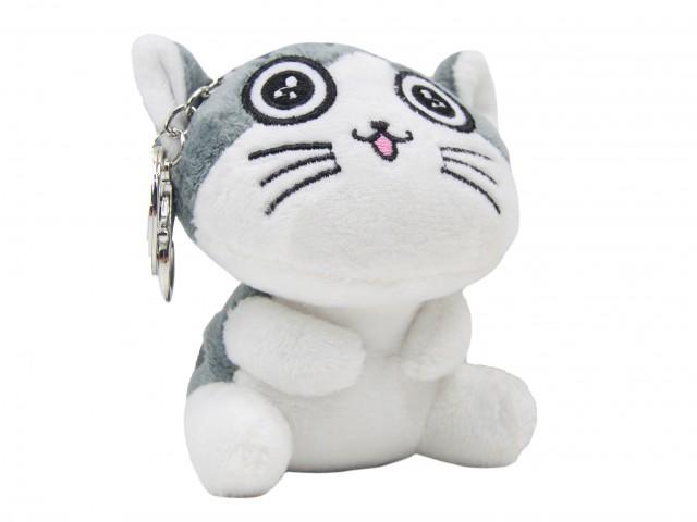 Мягкая игрушка Котенок глазастый