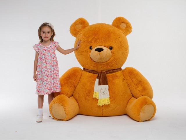 Мягкая игрушка Медведь гигант (набитый синтепоном вес-12 кг)