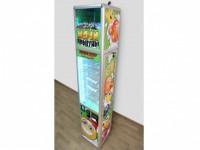 Мягкая игрушка ВЕСЕЛЫЙ СТОЛБИК - аппарат для продажи мячей-прыгунов